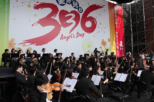 336管弦樂團彩排