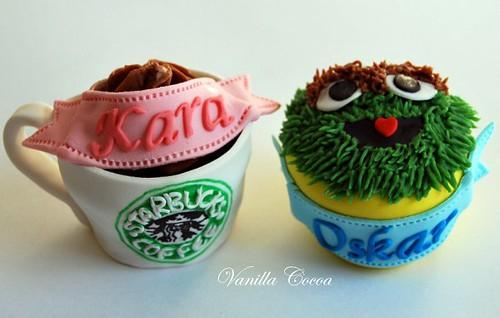 grouch-starbucks cupcakes