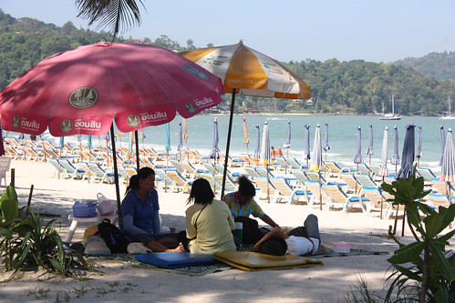 Massages on Patong Beach