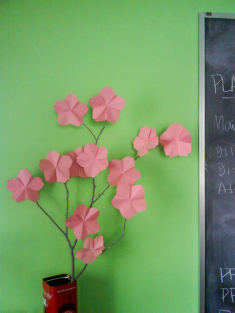 Sunday Craft: Cherry Blossoms!