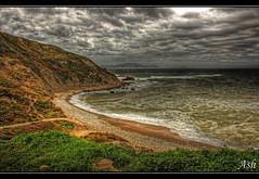 Basque coast in Barrika (Asi75er) Tags: travel costa beach nature clouds photoshop canon eos coast bilbao elements nubes bizkaia basque euskalherria hdr euskadi bilbo basquecountry paisvasco photoshopelements vasca barrika 400d canoneos400d