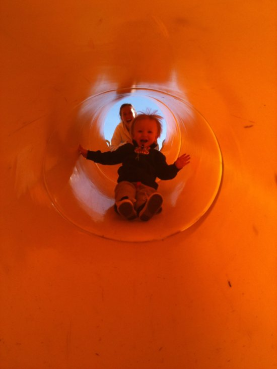 tunnel slide