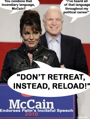 Palin Stirring Riots for McCain