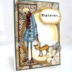 Whatever... (cvaladez67) Tags: handmadecard stampotique