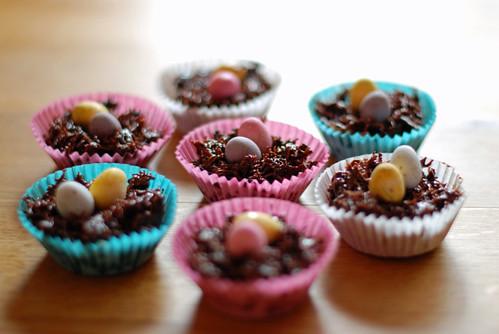 Seasonal Easter cakes