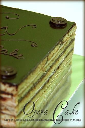 Opera Cake_Kedai Rachmah