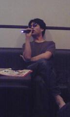 Mr.T sings X japan. (eeeeeT) Tags: coworker mrt myoffice drunkers