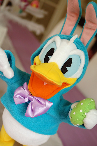 Easter Donald Duck from Hallmark.