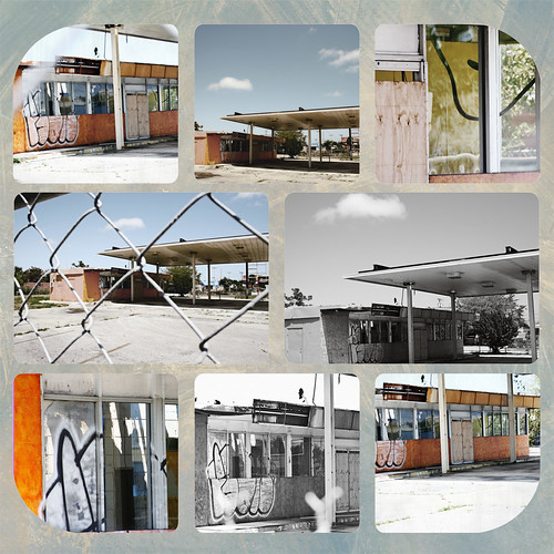 gas station storyboard