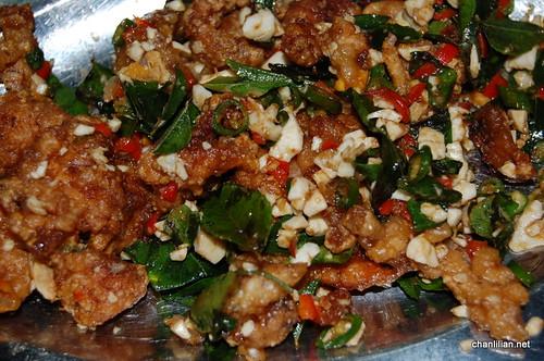salted eggs mantis prawns