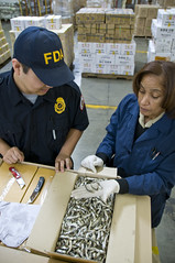 Seafood: FDA_Inspector_LA_2732 (The U.S. Food and Drug Administration) Tags: fish sushi shrimp shellfish seafood tuna clams sardines sanitation fishery histamine botulism foodsafety inspections internationalwaters clostridiumbotulinum foodimports scombrotoxinpoisoining