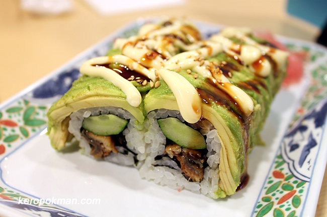 Unagi and Avocado