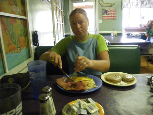 Breakfast in Hot Springs, NC