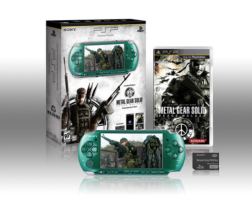 METAL GEAR SOLID: PEACE WALKER PSP Entertainment Pack