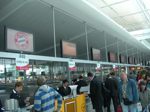 Check-In in München