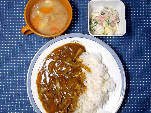 2010年4月10日の晩ご飯