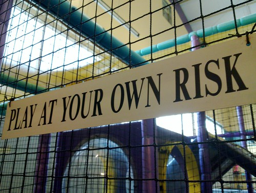 Play at Your Own Risk by sjgadsby, on Flickr