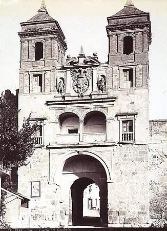 Puerta del Cambrón hacia 1880
