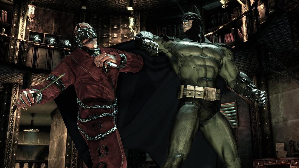 Batman Arkham Asylum loco