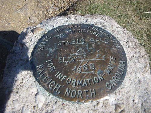 Big Bald Survey Marker