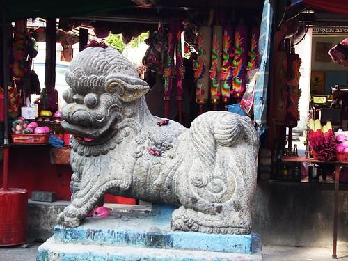 DSCN2641 Rock Lion , Kuan Yin Teng ,Penang ,槟城观音亭