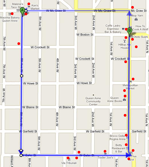 22 Coffee Shops. No Waiting. The Route Around Queen Anne
