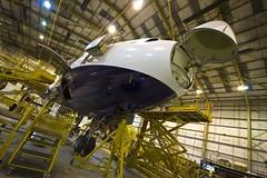 Monarch Airbus A300 night shift (Monarch Aircraft Engineering) Tags: aircraft engineering aeroplane repair maintenance monarch airbus aerospace mro overhaul