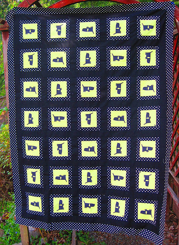 Mod Mutts quilt top