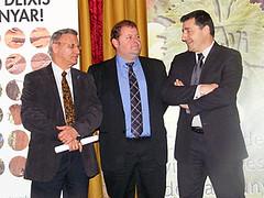 Agusti Ensesa, Oriol Guevara i Josep Roca