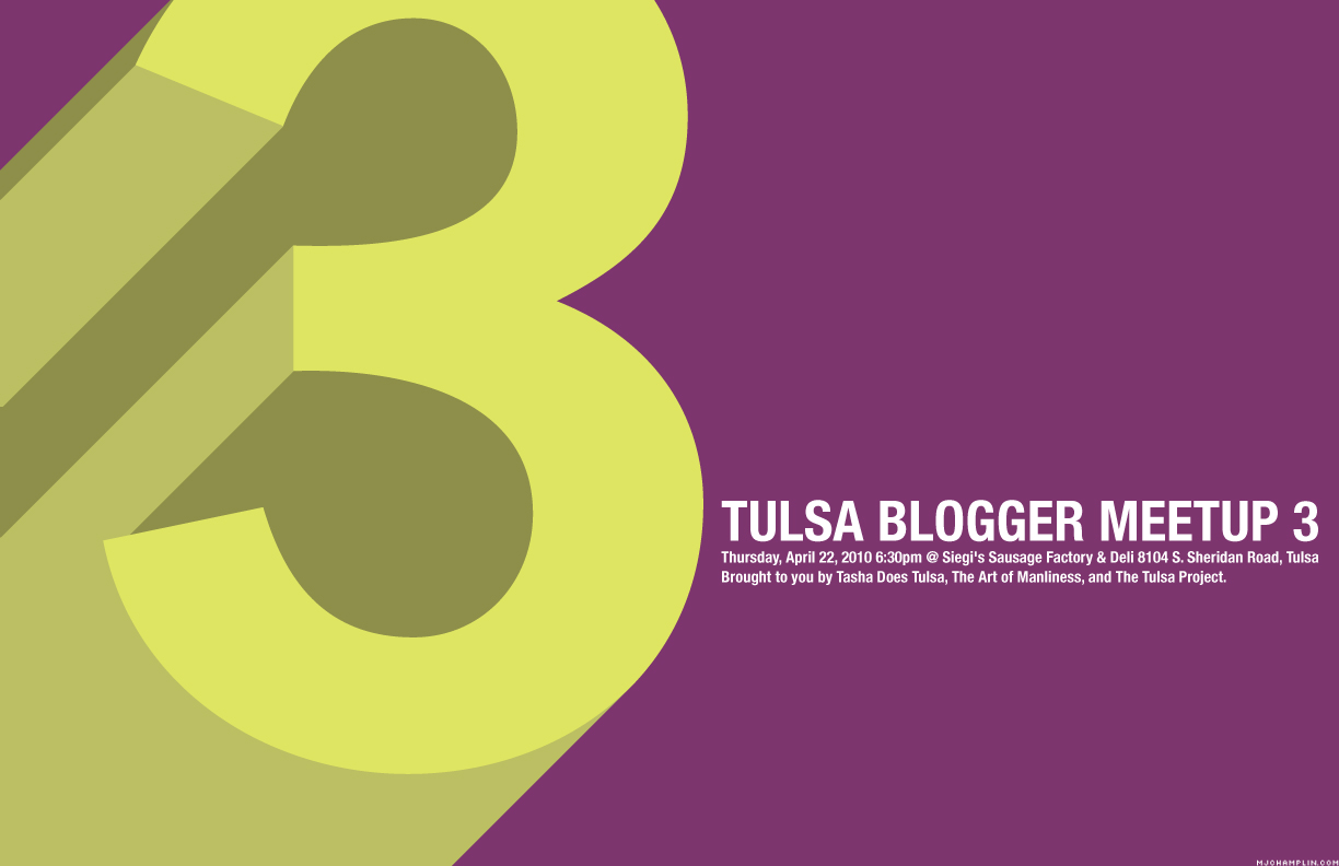 Tulsa Blogger Meetup: The Third