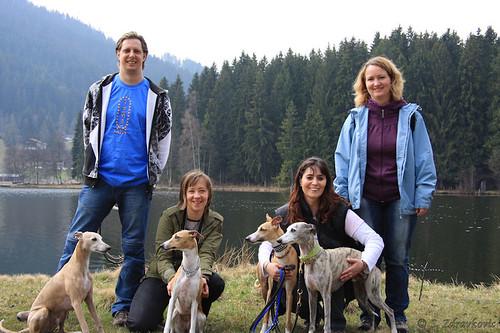 Gruppenbild am Schwarzsee