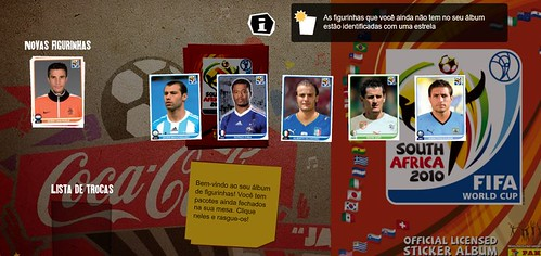 album virtual copa do mundo 2010