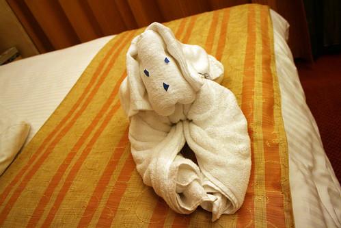 Carnival Spirit - Towel Animal - Puppy