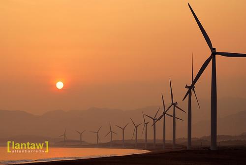 Bangui Windmills Sunrise