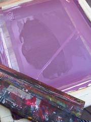 purple process (andrea_daquino) Tags: art illustration graphic silkscreen printmaking zodiac virgo