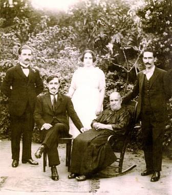 Carlos Loubiere y familia Figueroa