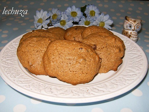 Galletas de chocolate-plato 1