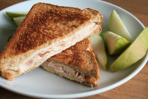 Grilled Turkey and Pepper Jack Sandwich