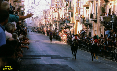 festa di S.Giuseppe (corsa di cavalli)
