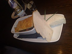 Steak pie at Lebowskis, Edinburgh