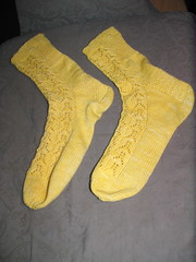 Yellow Mystery Socks
