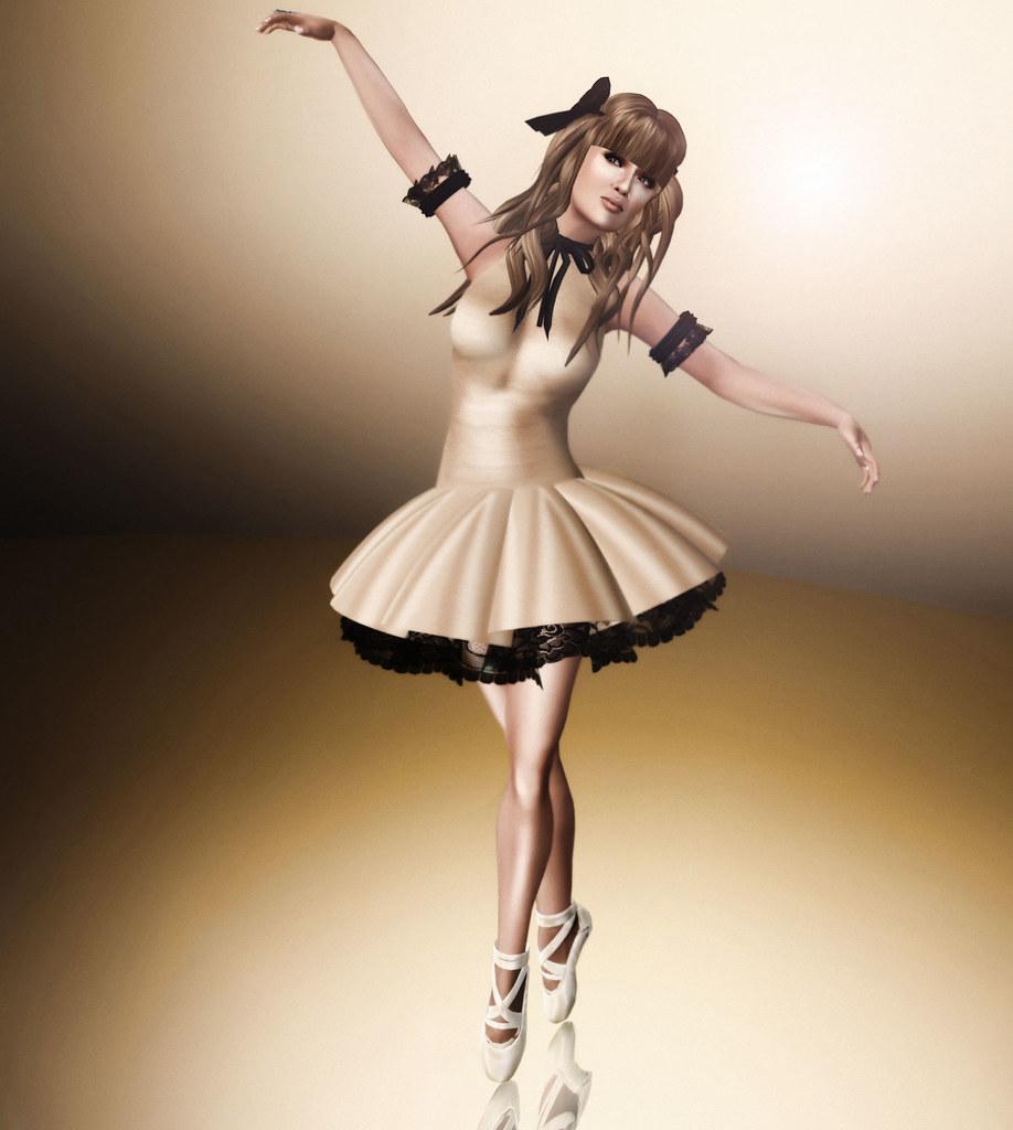 Golden Ballerina