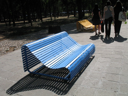 Bench, Chapultepec Park