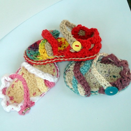 Vintage Crochet PATTERN BABY SANDALS HAT BLANKET Set | eBay