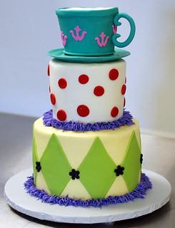 Unbirthday Tea Party Cake