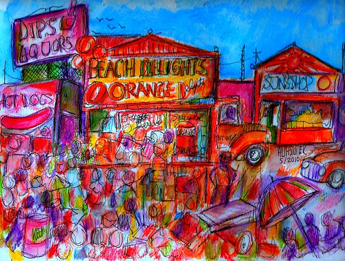 music art strand sold santamonica piers style demolition liquor sketchs socal artists writers promenade expressionist impressionism booze beatniks redwine watercolors westcoast thestrand beatnik wandering scents impressionist picnik poets penandink the60s aragonballroom lawrencewelk veniceca aromas gashouse liquorstores venicebeachcalifornia beachscenes onthehoof stmarkshotel electricbeach impressionistpaintings forgottenimages stcharleshotel venicewest huffstutter arcadiaballroom historyofvenice jeffreystanton huffstutterswatercolors santamonica1960s essaysbyhuffstutter beachfrontpaintings kosherdelis artbyhuffstutter retrosantamonica retrovenicebeach retrobeachscenes demolitionofaragonballroom jeffreystantonstimemagazinearticleaboutoceanparkarea oceanparkarea venicebeachscenes oldvenicewest carnivalbeach beachfrontscene carnivalatthebeach essayaboutvenicebeach1960s oceanparkdistrict venicebeachhistory venicebeachwatercolor hotelbldg santamonicavintage 1960svenicebeach beachsmells