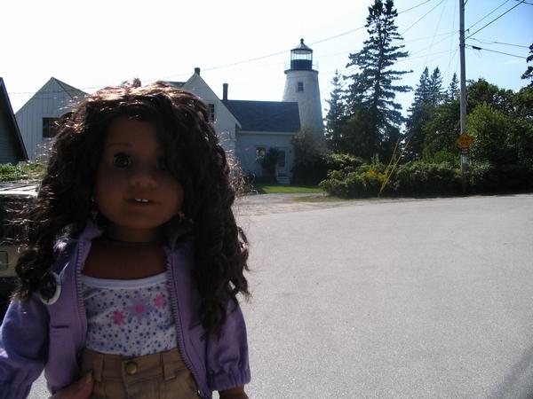 Sept. 2007: Marina by a lighthouse