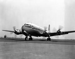 Douglas : DC-7 (San Diego Air & Space Museum Archives) Tags: aviation aeronautics sdasm