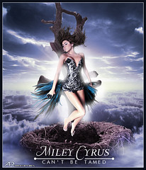 Miley Cyrus - Cant be tamed (D. ALBERTO T. R.) Tags: photoshop t montana hanna can disney cant alberto be illustrator cyrus beto diseo tamed evanescence blend grafico torres veto miley blends cirus paramore betow vetow