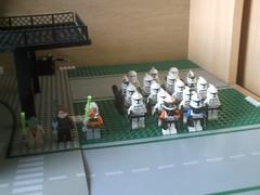 Lego Clone Army (legostarwars064) Tags: army star lego battle wars clone base droid droids